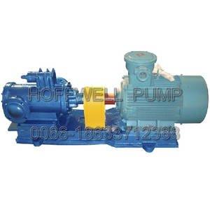 Aprobado por la CE 3G42X6A Diesel Oil Feeding Three Screw Pump